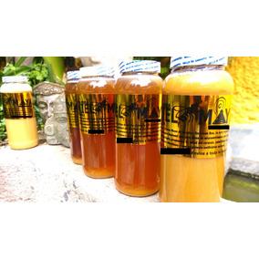 Miel Maya De Abeja 100% Pura De La Selva De Bacalar 1 Litro