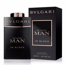 Perfume Bulgari Man In Black 100ml Lacrado 100% Original Edp