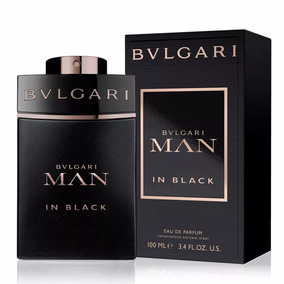 Perfume Bulgari Man In Black 100ml Edp Original E Lacrado
