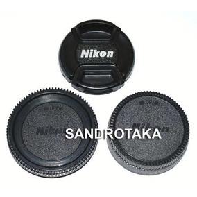 Kit 3 Tampa Nikon D90 D7000 67mm Lente 18-105 18-135 Cd.0267