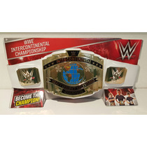 Wwe Mattel Cinturon De Niño Intercontinental Championship