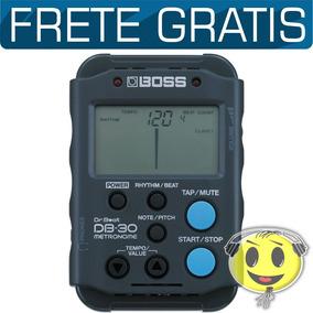 Metrônomo Afinador Db30 Digital Boss Db 30 - Loja Kadu Som