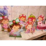 Moranguinho - 10 Displays De Mesa Decoração Festa Infantil
