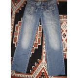 Calça Jeans Feminina Marca Reverso Tam.38 S/strech 250