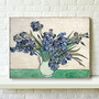 Arte Wieco - Iris De Van Gogh Pinturas Al Óleo Famosa Print