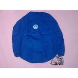 Funda Cubre Llanta De Refaccion Vocho Azul Logo Vw