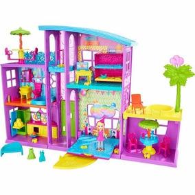 Polly Pocket Mega Casa De Sorpresa Mattel
