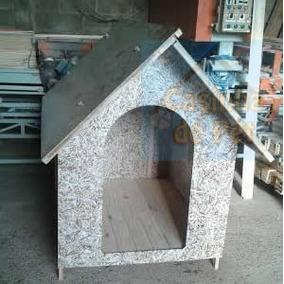 Casa Ecológica 2 Águas Recilada Cachorro Tamanho 6 Casinha