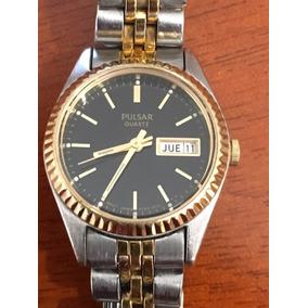 Reloj Pulsar Dama Quartz Usado Envio Gratis #129