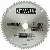 Disco De Serra P/ Madeira 10 X 30 X 60 Dentes Dw03120 Dewalt