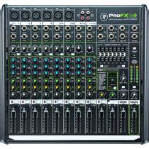 Mesa Mixer Analógica 12 Ch Eq Fx Aux Usb Mackie Profx12v2