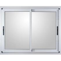 Ventana Aluminio Modena Blanca 180 X 150 Vidrio 4mm