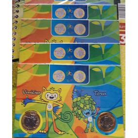 Lembrança Olimpíadas Rio 2016 Mascotes Vinícius E Tom
