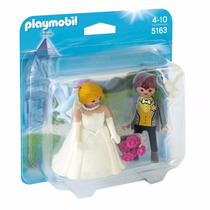 Playmobil 5163 Novios Ideal Para Pastel De Bodas