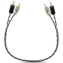 Cabo Rca Taramps 40cm Plug Banhado Ouro P Modulo Toca Cd Dvd