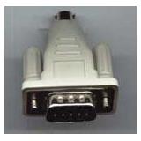 Adaptador Para Teclado Mini Din A Db9 (md6m/db9m) Equiprog