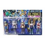 Set De Figuras Caballeros Del Zodiaco Coleccionable Muñecos