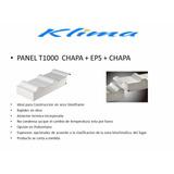 T1000 Panel De Techo Telgopor , Con Aislacion Y Cielorraso