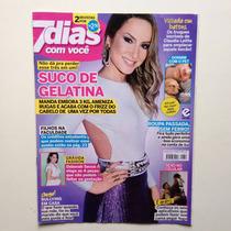 Revista 7 Dias Com Você Claudia Leitte Deborah Secco
