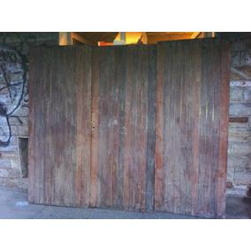 Portón De Madera - Garage