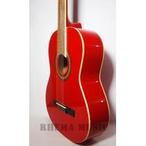 Guitarra Acustica Clasica Jacob Color Rojas Nueva Importadas