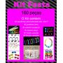 Kit Festa Com Sacolas Personalizadas= R$ 170,00 Frete Grátis