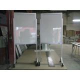 Quadro Branco Com Cavalete Com Rodas 120 X 200 Cm