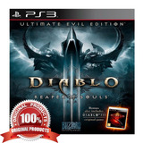 Diablo Iii Reaper Of Soul Ultimate Evil Edition Ps3 Digital