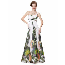 Vestido Longo Floral Importado Ever Pretty Pronta Entrega