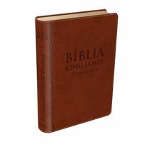 Bíblia De Estudo King James Atualizada Cor Marrom