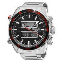 Relógio Technos Masculino Dual Time 0527af/1p - Original