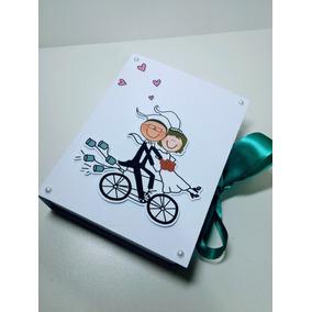 08 Caixas Convite Lembrancinha Casamento Padrinhos Bicicleta