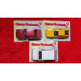Lote 3 Miniaturas Carros Brasileiros Nacionais 2 (lacrados)