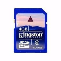 Memory Card Elite Pro Kingston 4gb Clase 4 Sdhc