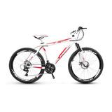 Bicicleta Alfameq Aro 26 21v Kit Shimano Disco Suspensão