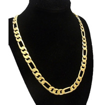 24k Cadena Cartier Oro Laminado 60cm 24 Cmx10mm