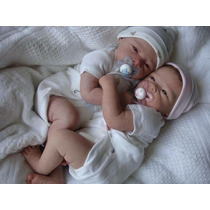 Gemeos Bebe Reborn Boneca Barato
