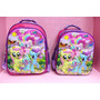 Mochila Jardin Mi Little Pony Peppa Pig 12 Pul 3d Tv