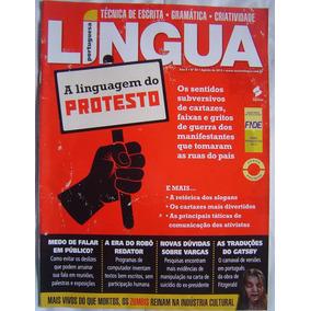 Revista Lingua Portuguesa - A Linguagem Do Protesto.