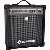 Caixa Som Ll Multiuso Amplificada 25w Lx100 Violão Guitarra