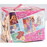 Frazada Soft Infantil Piñata Original 1 1/2 Plazas Princesas