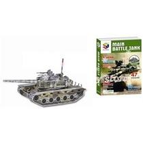Puzzle 3d. Tanque De Guerra- Giro Didactico