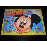 Album De Figuritas Mickey Y Sus Amigo 1990 Disney Cromy