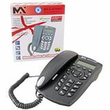Aparelho Telefonico Fixo Com Fio Identificador De Chamada