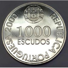 Fjr0102 Moeda Portugal 1000 Escudos D.joão De Castro 2000