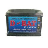 Bateria Para Autos 12 X 75 D-bat Plata Super Oferta !!!!