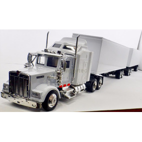 1:43 Trailer Full Custom Dolly Tractocamion Kenworth W900