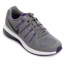 Tênis Fem Nike Air Max Dynasty Cinza/roxo Snob Calçados-s2
