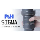 Objetivo Sigma P/ Pentax 17-50mm 2.8 Ex Dc Os Hsm