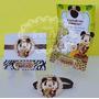 Convite Aniversário Mickey Safari 10 Unidades